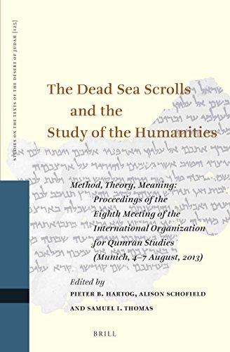 The Dead Sea Scrolls and the Study: Hartog, Pieter B.