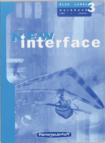 9789006141825: New Interface Workbook 3 Vwo/(havo) blue label