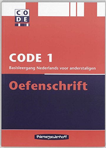 9789006811223: Code 1 Oefenschrift - Student Workbook