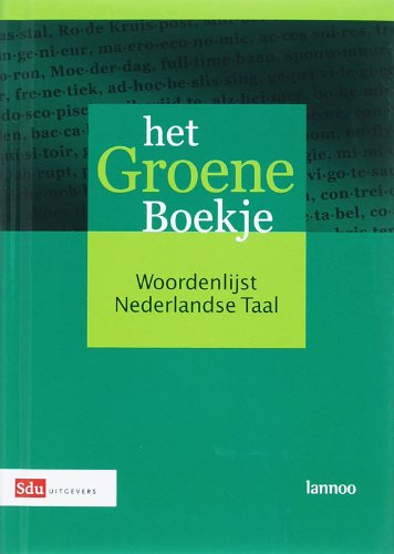9789012105903: Het Groene Boekje: Woordenlijst Nederlandse taal