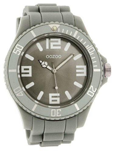 9789012473231: OOZOO Montre de plongée C4275 light Gris extra big