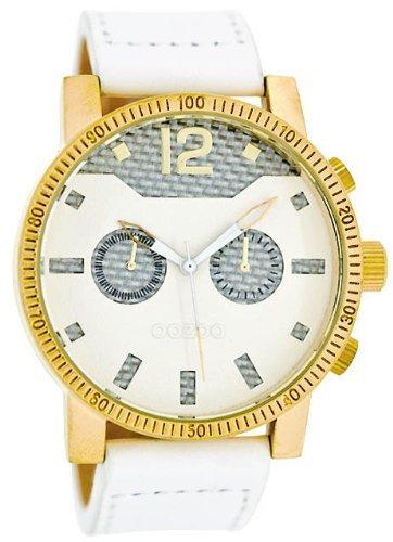 9789012478106: Oozoo C4796 - Reloj para mujeres, correa de cuero