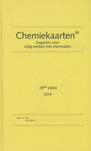 9789012579285: CHEMIEKAARTENBOEK 29E EDITIE 2014 (Chemiekaarten: gegevens voor veilig werken met chemicalien)