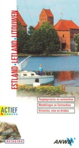 9789018019600: Estland, Letland, Litouwen ANWB Actief: Actief en Anders