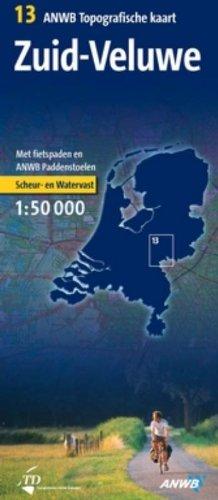 9789018026646: Topogr. kaart 13 Zuid-Veluwe 1 : 50 000