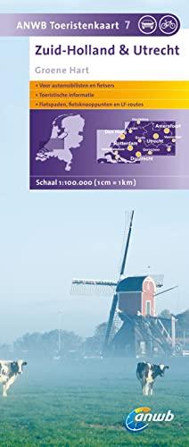 9789018030643: Zuid-Holland en Utrecht / 7 / druk 1: Groene Hart (ANWB toeristenkaart (7))