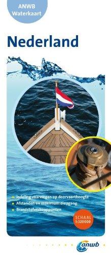 9789018033255: Waterkaart Nederland (Niederlande) 1 : 320 000 (ANWB waterkaart)