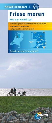 9789018033880: Fietskaart 03 Friese Meren 1 : 50 000: Kop van Overijssel (ANWB fietskaart)