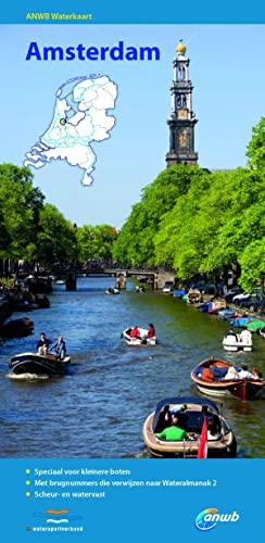 9789018038724: ANWB Waterkaart Amsterdam