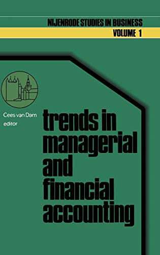 Trends in managerial and financial accounting: Income: C. Van Dam