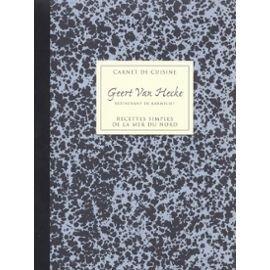 CARNETS CUISINE Recettes Simples De La Mer Du Nord: VAN HEMELEDONCK, JAN ; VAN HECKE, GEERT