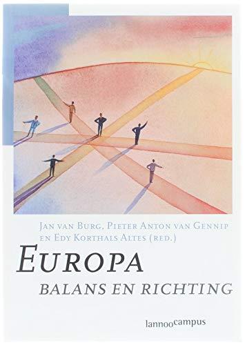 Europa : balans en richting.: Burg, Jan van,