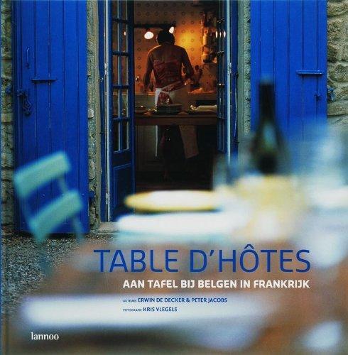 9789020962314: Table d'hôtes
