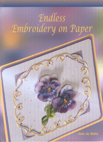 Endless Embroidery on Paper: Vette, Joke de