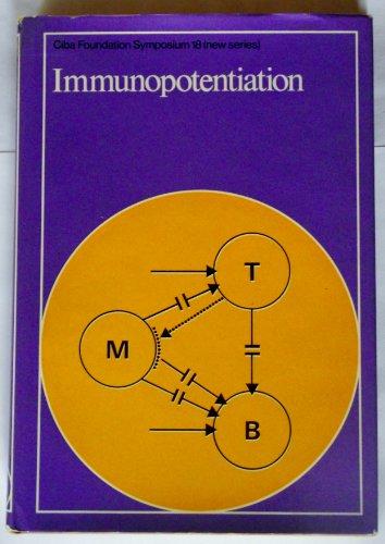 9789021940199: Immunopotentiation (Ciba Foundation Symposium)