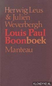 Boonboek : gesprekken met Louis Paul Boon: Weverbergh, Julien en