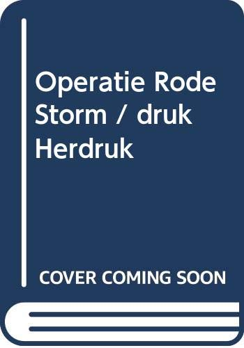 Operatie Rode Storm (9789022987643) by Tom Clancy