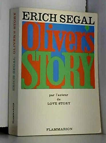 9789023002772: Oliver's story (roman).