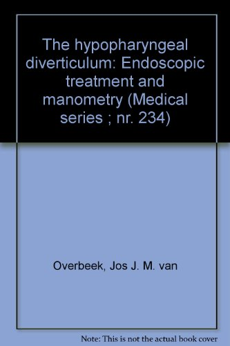 The hypopharyngeal diverticulum: Endoscopic treatment and manometry: Jos J. M.
