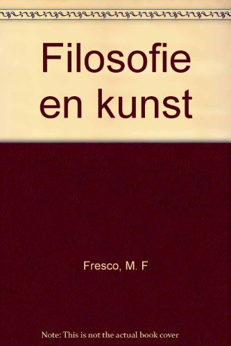 9789023221876: Filosofie en kunst (Dutch Edition)