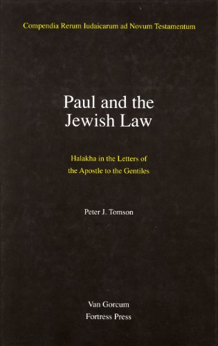 9789023224907: Paul and the Jewish Law (Jewish Traditions in Early Christian Literature)