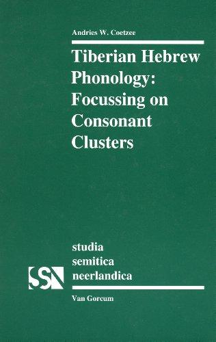 9789023234319: Tiberian Hebrew Phonology: Focussing on Consonant Clusters (Studia Semitica Neerlandica, 38)