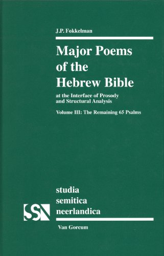 9789023239369: Major Poems of the Hebrew Bible: At the Interface of Prosody and Structutal Analysis: the Remaining 65 Psalms (Studia Semitica Neerlandica)