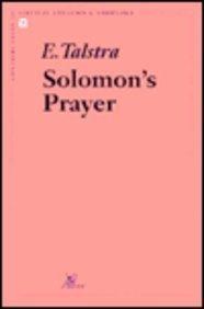 Solomon's Prayer: Talstra E.,