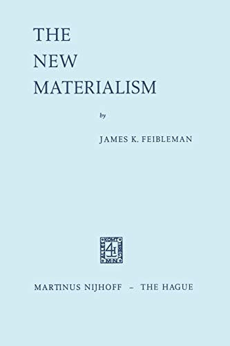 9789024700479: The New Materialism