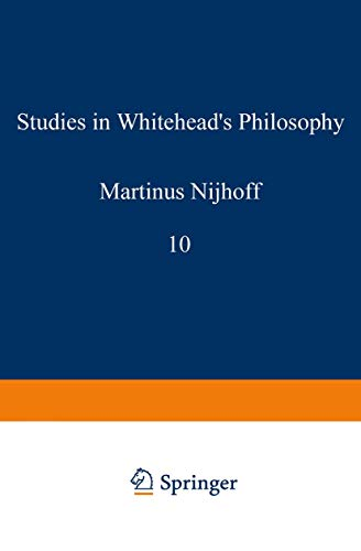 9789024702848: Studies in Whitehead's Philosophy (Tulane Studies in Philosophy)