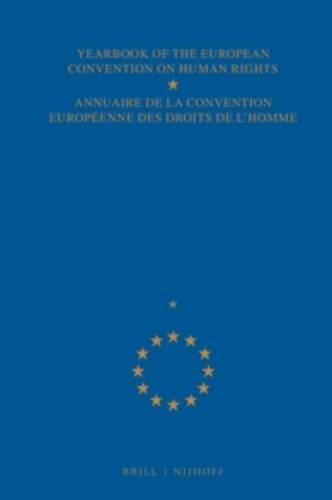 9789024709465: Yearbook of the European Convention on Human Rights (Yearbook of the European Convention on Human Rights/Annuaire)