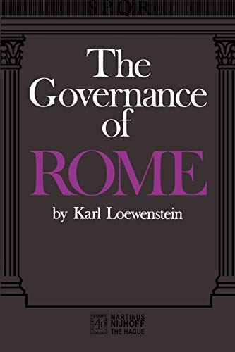 9789024714582: The Governance of ROME