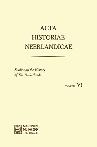 Acta Historiae Neerlandica. Studies on the History: Slicher Van Bath,