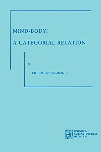 9789024715503: Mind-Body: A Categorial Relation