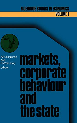 Markets, Corporate Behaviour and the State: International Aspects of Industrial Organization