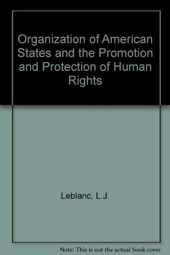 9789024719433: The OAS and the Promotion and Protection of Human Rights