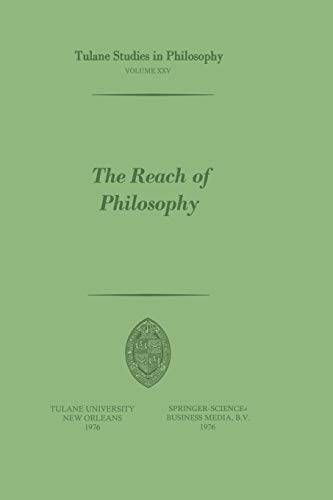 ed.). The Reach of Philosophy. Essays in Honor of James Kern Feibleman.: Whittemore, R.C.