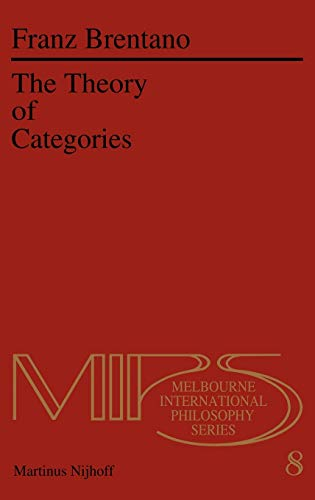 9789024723027: The Theory of Categories (Nijhoff International Philosophy Series)