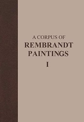 9789024726141: A Corpus of Rembrandt Paintings: 1625–1631 (Rembrandt Research Project Foundation)