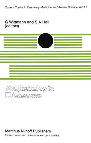 Aujeszky's Disease: Wittmann, G.; Hall, S. A.