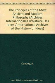 9789024726714: The Principles of the Most Ancient and Modern Philosophy (International Archives of the History of Ideas Archives internationales d'histoire des idées)