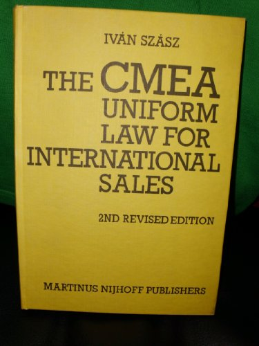 The CMEA Uniform Law for International Sales: Szasz, I.