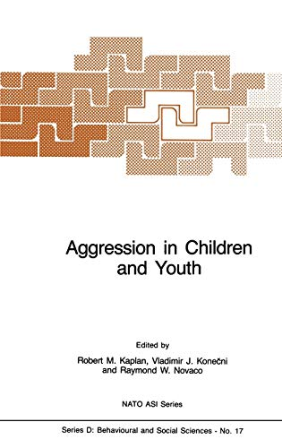 9789024729036: Aggression in Children and Youth (Nato Science Series D:)