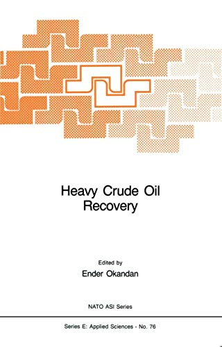 Heavy Crude Oil Recovery (NATO Science Series E: Applied Science, No. 76)