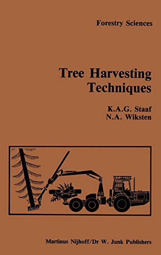9789024729944: Tree Harvesting Techniques (Forestry Sciences)