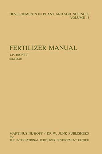 Fertilizer Manual (Developments in Plant and Soil