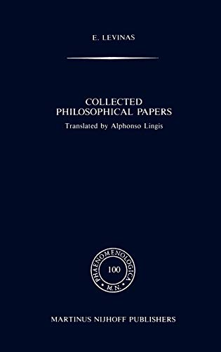 9789024732722: Collected Philosophical Papers (Phaenomenologica)