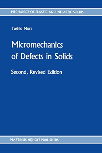 9789024733439: Micromechanics of Defects in Solids