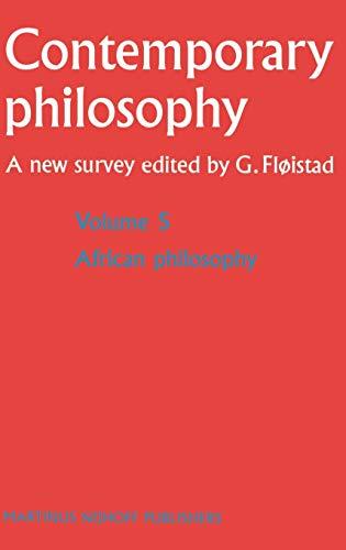 African Philosophy - Guttorm Fløistad