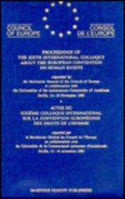 9789024735396: European Convention on Human Rights:International Conference Proceedings (Yearbook of the European Convention on Human Rights/Annuaire)